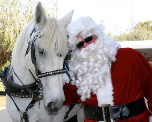 Molly & Santa