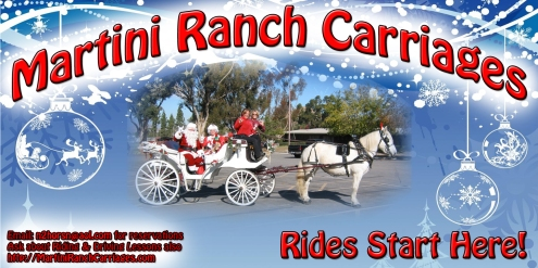 Martini Ranch Carriages 2013 Riverside Sign