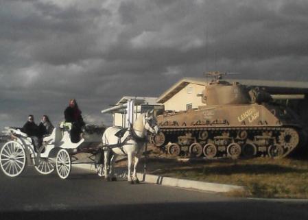 at Marine Corps Base in Twentynine Palms, CA