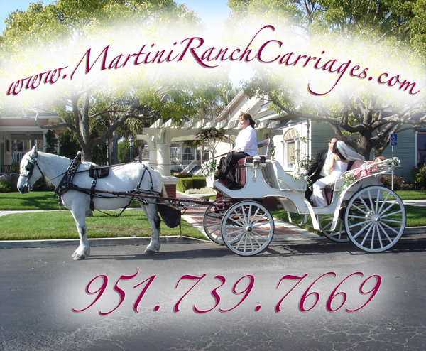 elegant horse drawn carriages for rent